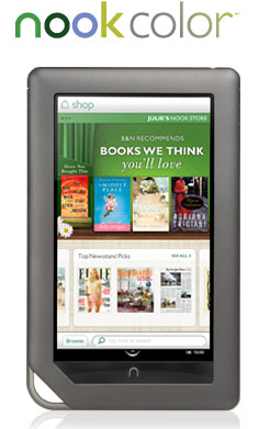 Barnes & Noble NOOKcolor IPS Color eBook