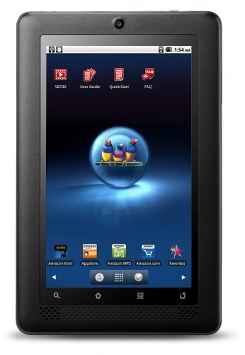 Планшет ViewSonic ViewBook 730 на базе Android 2.2 Froyo
